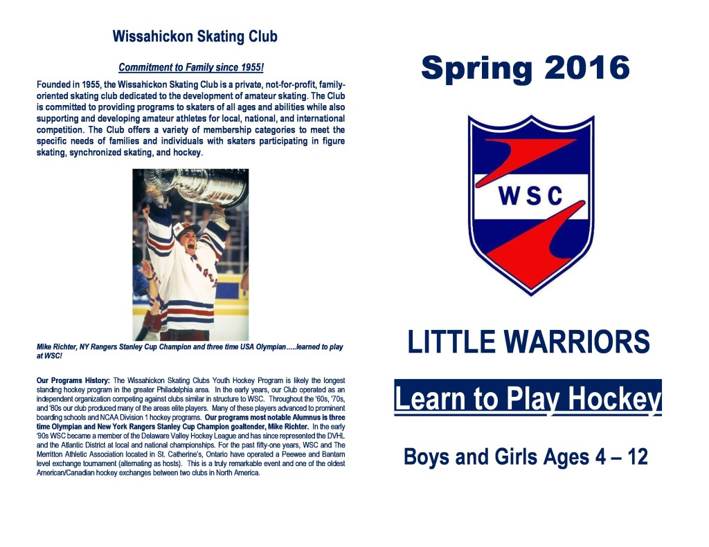 2016 Spring Little Warriors Registration-page-1