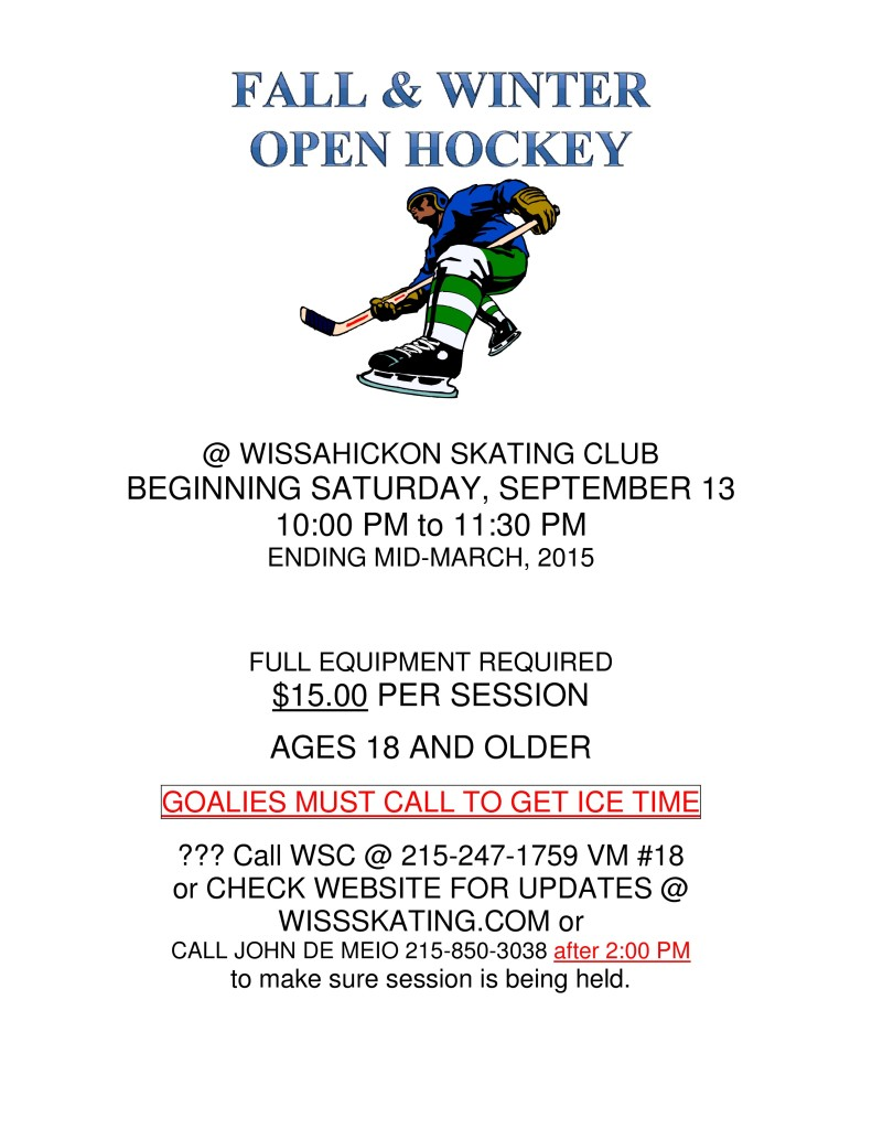 2014-15 OPEN HOCKEY-FALL-WINTER