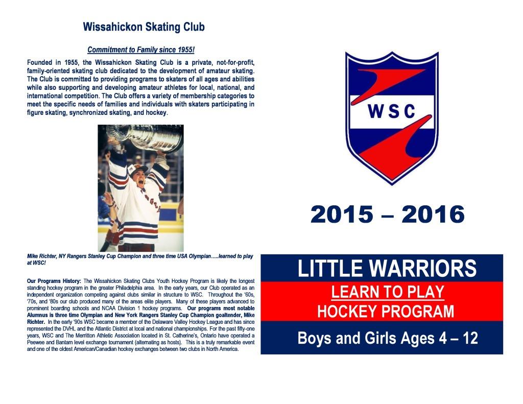2015-16 Fall Little Warriors Outside