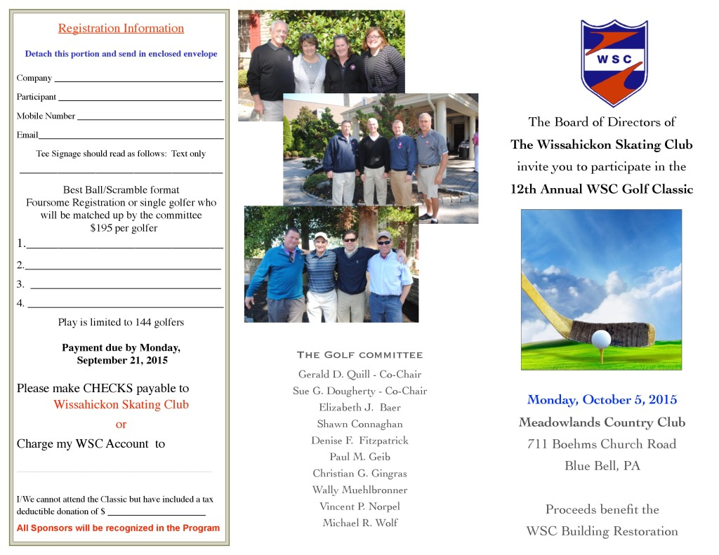 2015 WSC Golf Outing outside