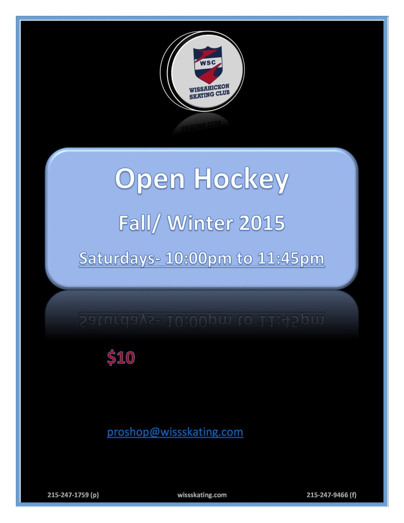 2015-16 FALL OPEN HOCKEY DOC