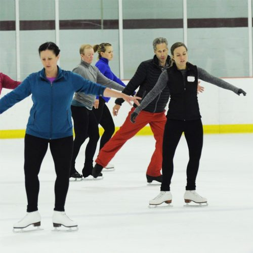 Adult Learn to Skate and Freeskate Classes for the Public