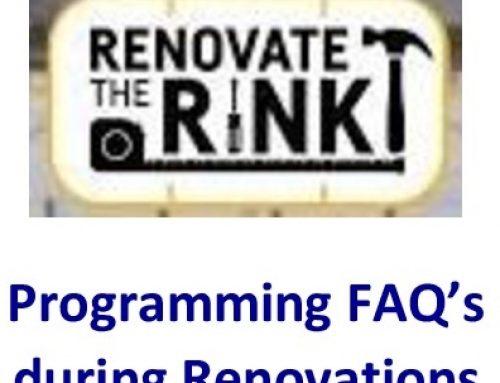 Programming FAQ's during Reconstruction
