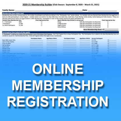 WSC 2021-22 New and Returning Member Online Registration