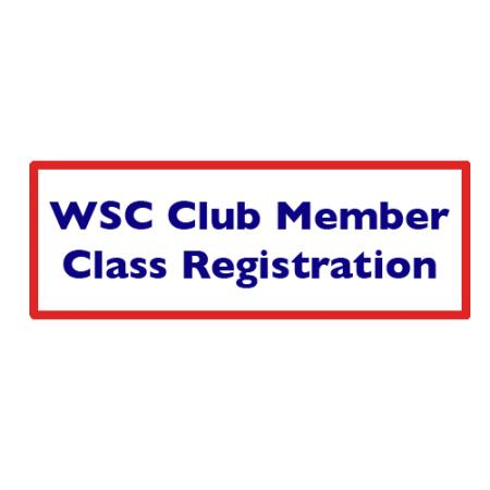 WSC FULL CLUB MEMBERS ONLY-Class Registration