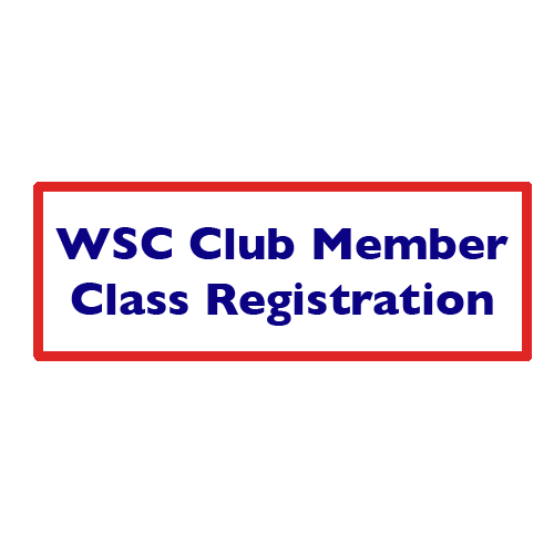 WSC FULL CLUB MEMBERS ONLY-Class Registration